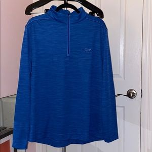 Greg Norman light shirt hoodie